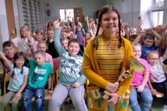 Emilia Kaczmarek-najlepsza w Eliminacjach Wojewódzkich XLIV Ogólnopolskiego Konkursu Krasomówczego w kategorii szkół podstawowych