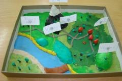Modelowanie form terenu z plasteliny