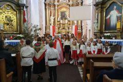 Występ na 11 Listopada w kościele w Czarnożyłach